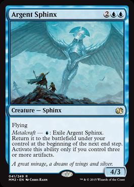 Argent Sphinx - Foil