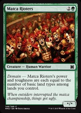 Matca Rioters - Foil
