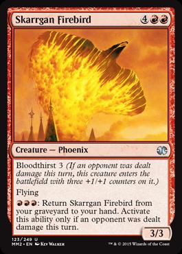 Skarrgan Firebird - Foil