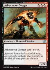 Ashenmoor Gouger - Foil on Channel Fireball