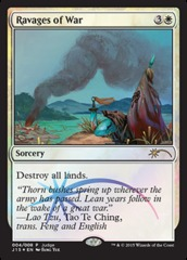 Ravages of War (Judge Foil)