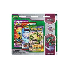 Pokemon XY6 Roaring Skies 3-Booster Blister Pack - Mega Latios Pin