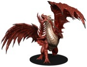 Pathfinder Battles Dungeons Deep: Gargantuan Red Dragon
