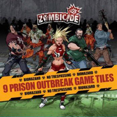 Zombicide 4 Prison Outbreak Tile Pack