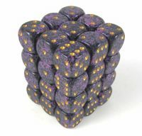 Hurricane Speckled 12mm 6 Sided Dice 36 in Box CHX25917