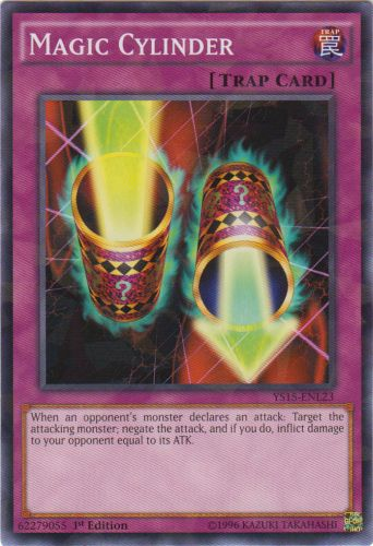 Magic Cylinder - YS15-ENL23 - Shatterfoil - 1st Edition