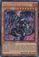 D/D/D Dragon King Pendragon - YS15-ENL00 - Secret - 1st Edition on Channel Fireball