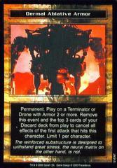 Dermal Ablative Armor