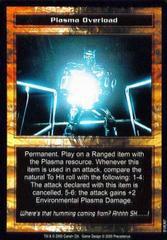 Plasma Overload