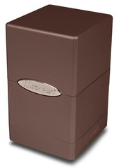 Ultra-Pro: Metallic Dark Chocolate Satin Tower Deck Box