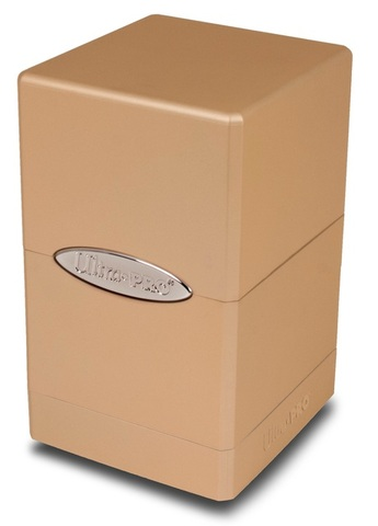 Ultra Pro Satin Tower Metallic Caramel (84601)