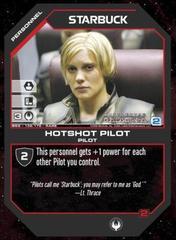 Starbuck Hotshot Pilot