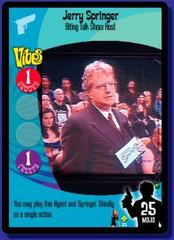Jerry Springer Biting Talk Show Host