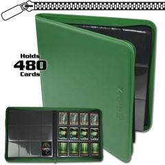 BCW Z-Folio 12-Pocket LX Album - Green