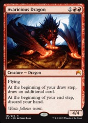 Avaricious Dragon - Foil on Channel Fireball