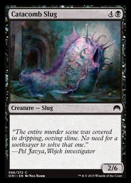 Catacomb Slug - Foil