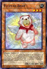 Fluffal Bear - SP15-EN023 - Shatterfoil - 1st Edition on Channel Fireball