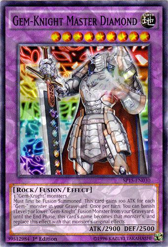 Gem-Knight Master Diamond - SP15-EN030 - Shatterfoil - 1st Edition