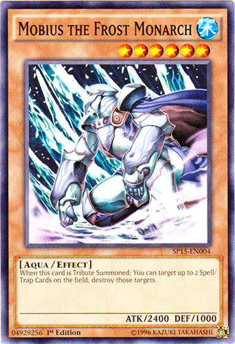 Mobius the Frost Monarch - SP15-EN004 - Common - 1st Edition