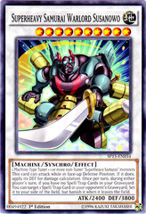 Superheavy Samurai Warlord Susanowo - SP15-EN034 - Common - 1st Edition