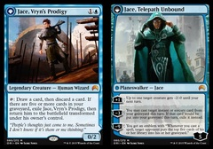 Jace, Vryn's Prodigy // Jace, Telepath Unbound on Channel Fireball