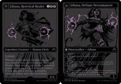 Liliana, Heretical Healer // Liliana, Defiant Necromancer - SDCC 2015 Exclusive Promo