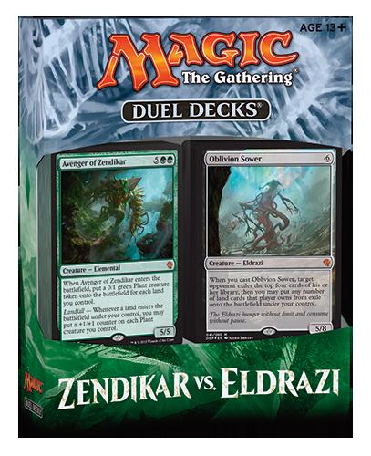 Duel Decks: Zendikar vs Eldrazi