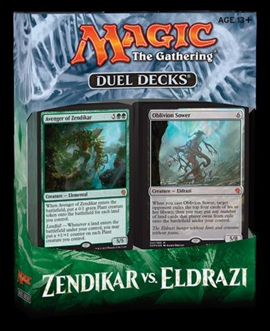 MTG Duel Decks: Zendikar vs. Eldrazi