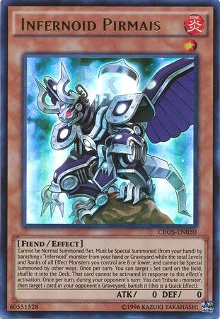 Infernoid Pirmais - CROS-EN030 - Ultra Rare - Unlimited Edition