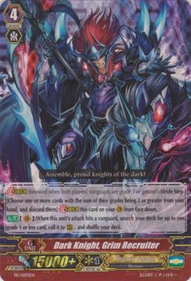 Dark Knight, Grim Recruiter - PR/0193EN - PR