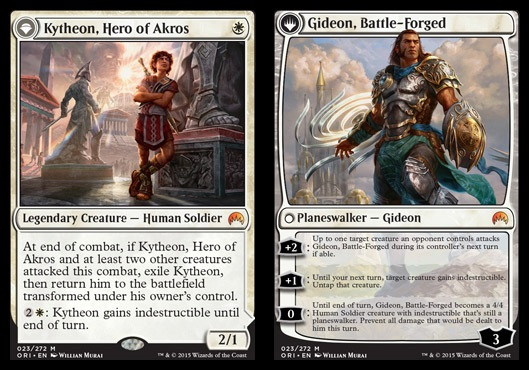 Kytheon, Hero of Akros // Gideon, Battle-Forged - Foil