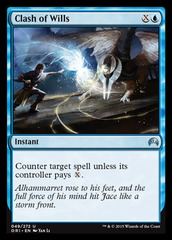 Clash of Wills - Foil