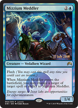 Mizzium Meddler - Foil - Launch Promo