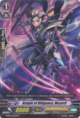 Knight of Diligence, Mazorlf - G-BT03/047EN - C