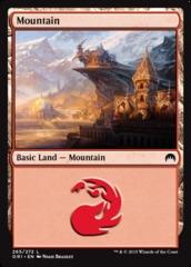 Mountain - Foil (265)(ORI)