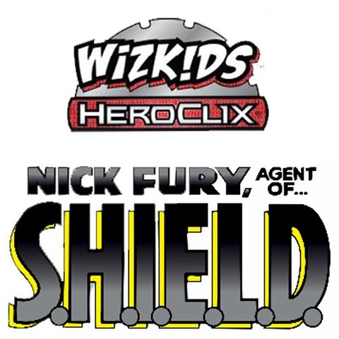 Marvel HeroClix: Nick Fury, Agent of S.H.I.E.L.D. Booster Brick (10 Packs) © 2015