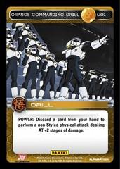 Orange Commanding Drill U91