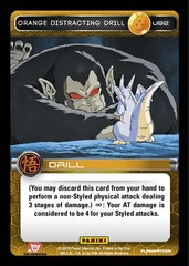 Orange Distracting Drill U92 - Foil