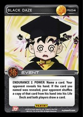 Black Daze R104 - Foil on Channel Fireball