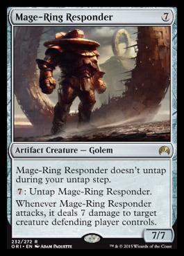 Mage-Ring Responder - Foil
