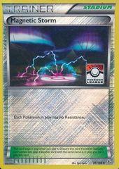 Magnetic Storm - 91/106 - Uncommon - Crosshatch Holo Pokemon League Promo