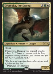 Dromoka, the Eternal (Khans of Tarkir Clash Pack Promo)