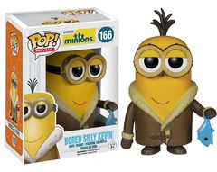 Funko Pop - Minions - #166 - Bored Silly Kevin