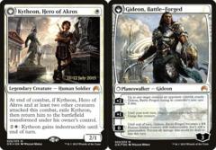 Kytheon, Hero of Akros // Gideon, Battle-Forged - Foil - Prerelease Promo