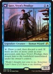 Jace, Vryn's Prodigy // Jace, Telepath Unbound - Magic Origins Prerelease Promo