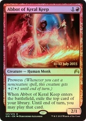 Abbot of Keral Keep - Foil - Prerelease Promo on Channel Fireball