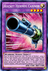 Rocket Hermos Cannon - DRL2-EN010 - Secret Rare - 1st Edition