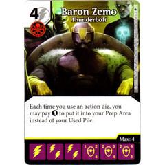 Baron Zemo - Thunderbolt (Die & Card Combo)
