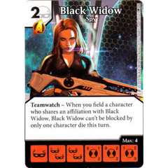 Black Widow - Spy (Die & Card Combo)