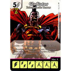 Gladiator - Intergalactic Terror (Full Art) (Die & Card Combo)